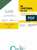 """Libro """"Si lastima, no es disciplina"""""""