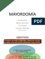 Mayordomía Cristiana_predicación
