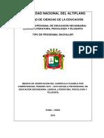 CURRÍCULO 2015-2019
