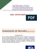 Globalizacion de Mercados e Internacionalizacion