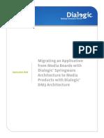 Dialogic Springware/JCT to DM3 Migration