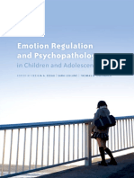 Emotion Regulation and Psychopathology in Children and Adolescents