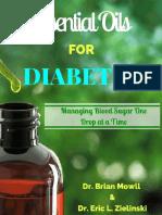 Essential Oil for Blood Sugar Balance