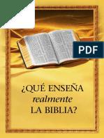 Lo Que Nos Ensena La Biblia