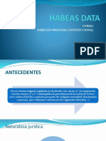 Habeas Data Ppt