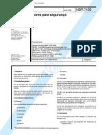 """NBR 7195 – """"Cores para segurança"""".pdf"""