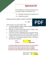 TALLER de Construcción de Modelos Matemáticos