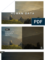 Human Data Research