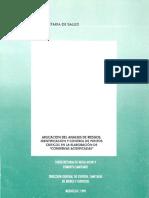 Aplicación del análisis de riesgos, identificación y control de puntos críticos en la elaboración de conservas enlatadas no acidificadas, México, SSA, 1996.pdf