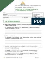 B2 4 Aout 2015 Alexandrie - G- Nigremont Jeantou Le Macon - 325 000 Francs