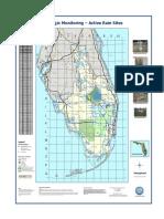 SFWMD Rain Monitor Map