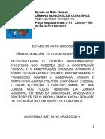 Lei Organica Do Municipio de Guiratinga