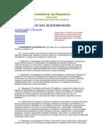LEI 10871 de 20 de 05 de 2004 Criação de Carreiras e Organização de Cargos Efetivos Das Autarquias Especiais Denominadas Agências Reguladoras