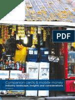 2016 GSMA Companion Cards Mobile Money