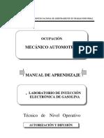 Aboratorio de Inyeccion Electronica de Gasolina