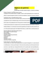 Dermatitis y Control Muy Practico