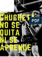 White Simple Woman Sports Boxing Poster