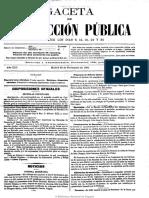Gaceta de Instrucción Pública . 30-11-1901