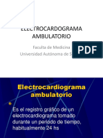 ECG Ambulatorio y Ecocardiograma