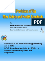 Session 9c Updates on OSH Regulations in the Mines