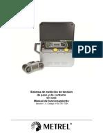 MI 3295 Step Contact Voltage Measuring System SPA Ver 1.4!20!751 739