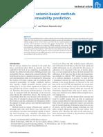 2011-Khromova-Comparoson of Seismic-based Methods for Fracture Permeability Prediction-First Break