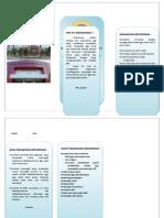Leaflet Ortodonsia
