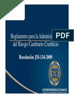 Reglamento de Administración Del Riesgo Cambiario Crediticio