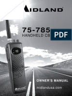 Midland 75 785 CB Radio Manual
