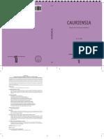 Cauriensia II-2007