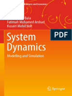 System Dynamics Modeling and Simulation
