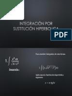 Integración Por Sustitución Hiperbolica