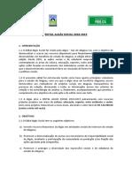 Edital Algás Social 2018-2019