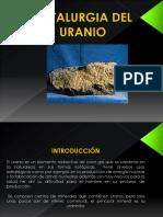 Metalurgia Del Uranio