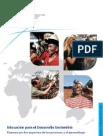 EDUCACION  PARA EL DESARROLSO SOSTENIBLE  EDS UNESCO