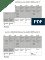 Kkn Tlogoagung (2017) - Brosur Timeline