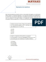 L6. Ejemplos de Reactivos