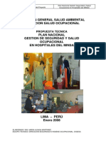 PROPUESTA TECNICA DEL PLAN NACIONAL DE GESTION EN SEGURIDAD Y SALUD OCUPACIONAL EN HOSPITALES .pdf