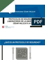 3 Protocolos de Seguridad en Laboratorios de La Universidad Física y Afines