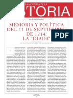 Canal, Jordi - Memoria y Política Del 11 de Septiembre de 1714, La 'Diada', p3