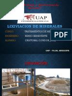 Lixiviacion de Minerales PDF