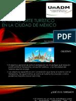 El Transporte Turístico en La Ciudad de México