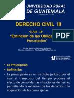 Derecho Civil III Clase 18
