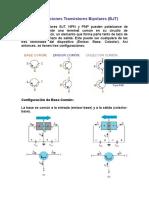 13901223 Configuraciones Transistores Bipolares