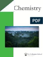 AP Chemistry SAMPLE 1