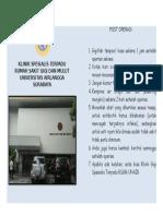Leaflet Post Op Klinik Spesialis Terpadu