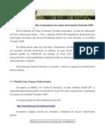 Ibama Manual Sinaflor 06 Preenchim Import Planilha Inventario Florestal
