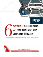 6 steps to building a swashbuckling airline brand