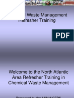 Chemical Waste Management Refresher Training