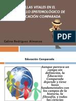 Huellas Espistemológicas de La Educ. Comparada